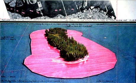 Christo surronded islands