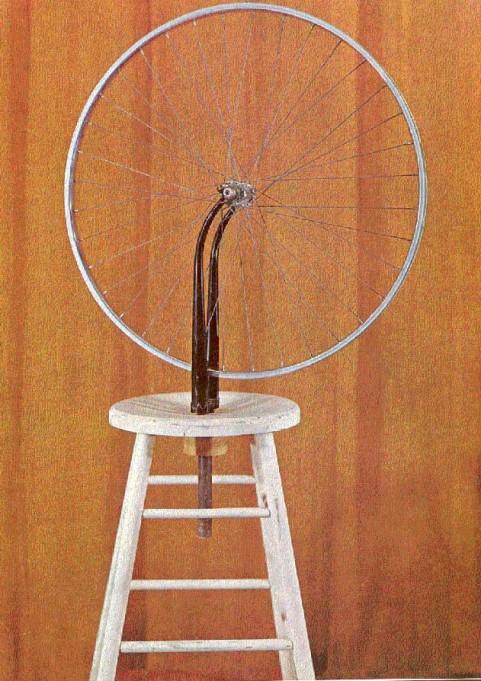 Duchamp, ruota di bicicletta, 1913