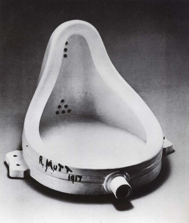 """Marcel Duchamp, """"Fontana"""" 1916-1917"""