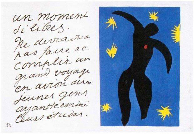 Matisse Icarus 1947