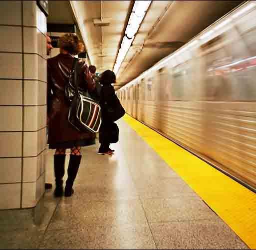 sottopassaggio della metro