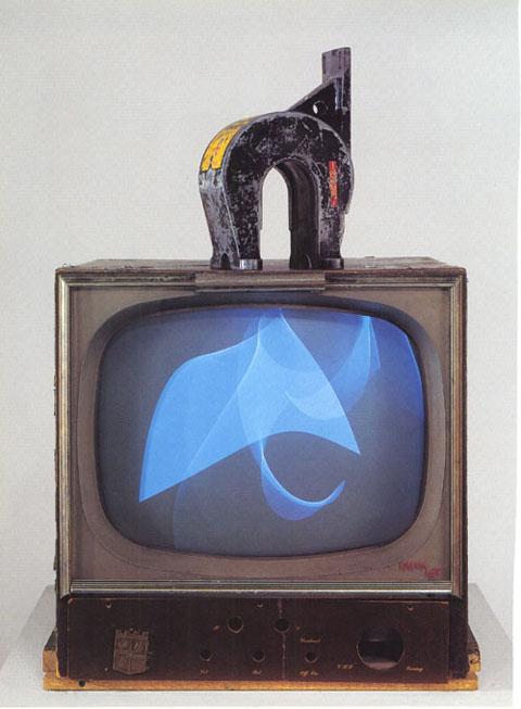 Paik TV Magnet
