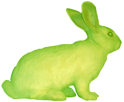 Kac GFP Bunny Alba