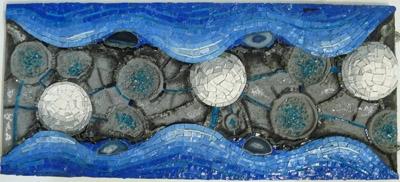Creazione, mosaico, Alessandra D'Andrea