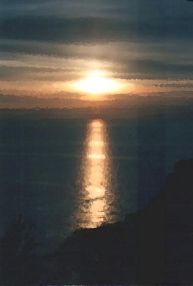 Luce assoluto paesaggi estasi