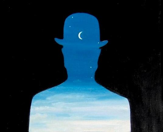 Magritte - Il donatore felice (part.)