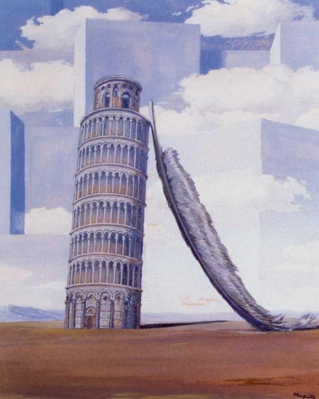 Magritte Ricordo di viaggio
