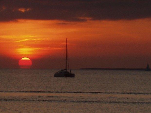 tramonto mare paesaggio